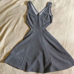 Divided by H&M Women's Size 2 Gray Textured Dress